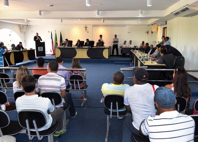Após amplo e democrático processo de discussão e elaboração - liderado pela Prefeitura de Porto Seguro, por meio da Secretaria de Educação - no dia 19/06, a Câmara Municipal aprovou o Plano Municipal de Educação (PME) do município. (Foto: ASCOM)