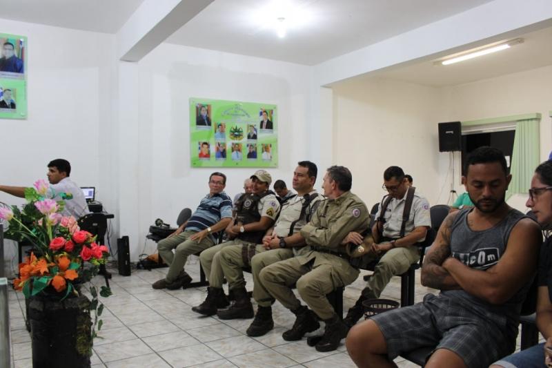 3º Pelotão que atua em Itagimirim recebeu homenagem do legislativo municipal. (Imagem: ItagimirimNews)