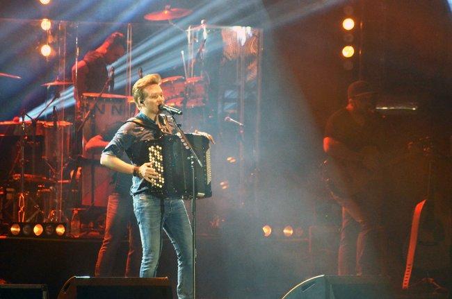 Michel Teló foi a atração principal da noite. (Foto: João Cordeiro)