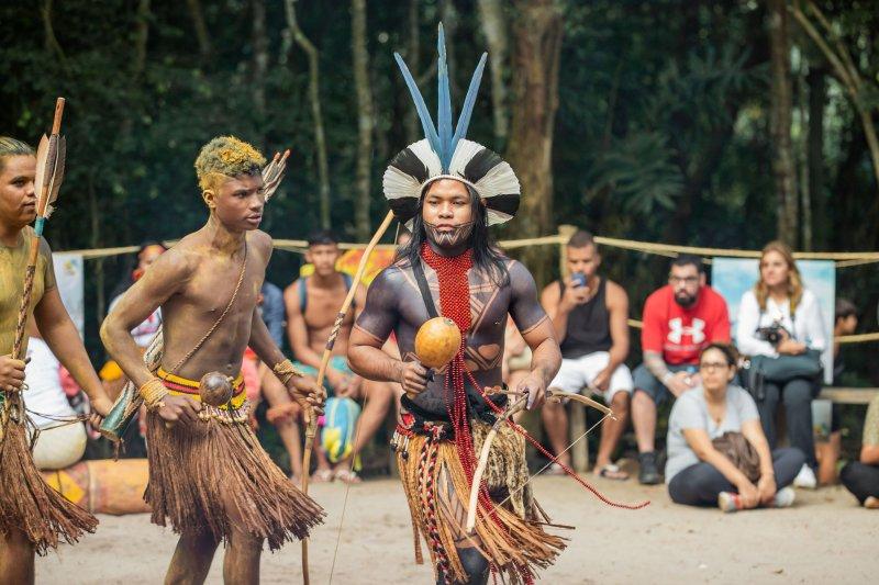 A Aldeia da Reserva da Jaqueira está localizada em uma área de 827 hectares, onde vivem 34 famílias. (Divulgação)