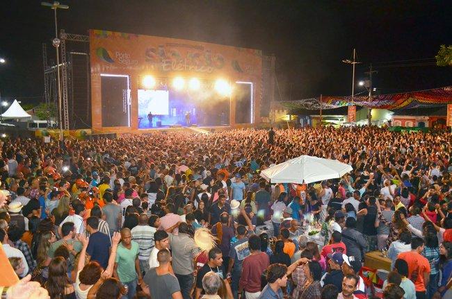 São João Elétrico em Porto Seguro reuniu aproximadamente 70 mil foliões. (Foto: João Cordeiro)