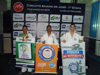 Judocas eunapolitanos campeões da 1º Etapa do Campeonato Estadual (Foto: SECOM-PME)