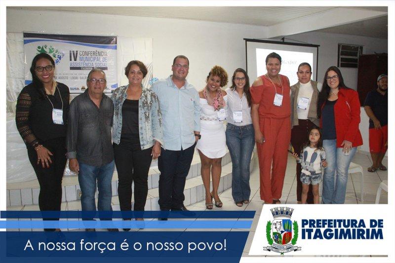 O Conselho Municipal de Assistência Social, juntamente com a Secretaria de Desenvolvimento Social da Prefeitura de Itagimirim,  realizaram nos dias 23 e 24 de Agosto no Salão Paroquial