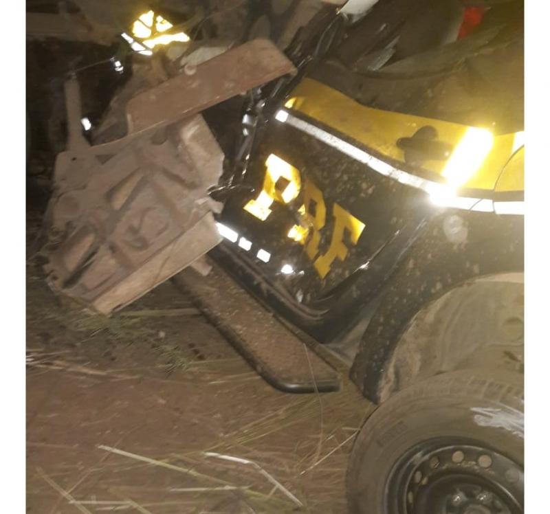 Acidente deixou três mortos e dez feridos. (Imagem: WhatsApp)