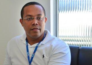 Capitão Márcio Henrique Caldas da Conceição, coordenador do CICOM. Projeto é que a sociedade civil e empresários adotem câmeras. (Foto: ASCOM/Porto Seguro)
