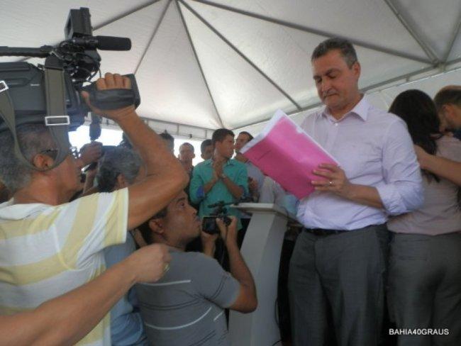 A carta exalta o repúdio governador à impunidade e a violência, e reclama da lentidão na conclusão do inquérito policial. (Foto: Bahia40graus)