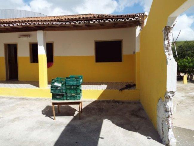 Escola passou por uma grande reforma na parte estrutural. (Foto: Adson Oliveira/Rastro101)