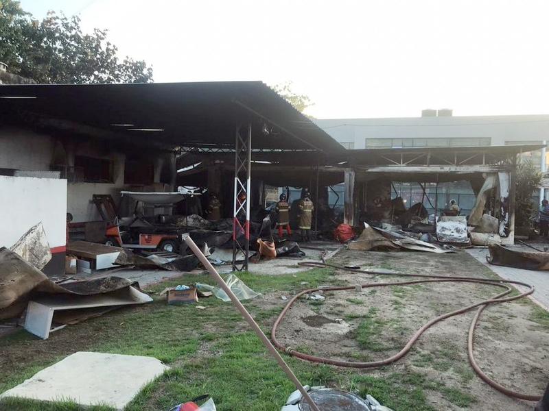 10 mortos e 3 feridos oram confirmados no incêndio. (Arquivo pessoal)