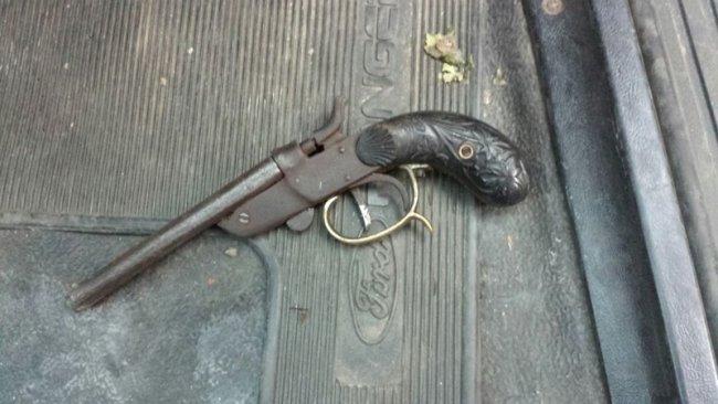 Arma usada por