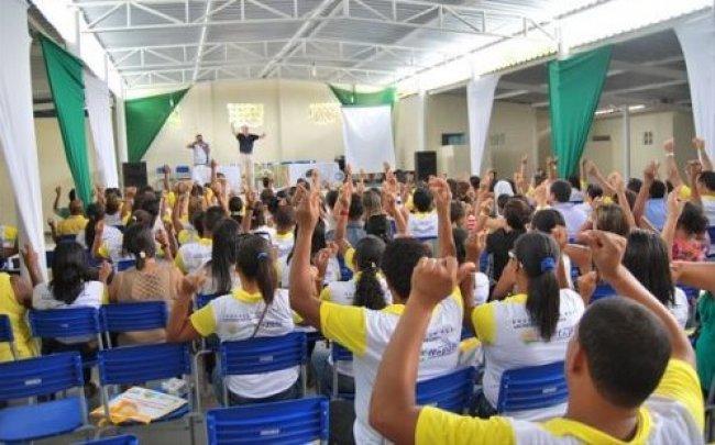 Palestra no Auditório da Loja Maçônica 2 de Julho (Foto: Arnaldo Alves-Itapebi Acontece)
