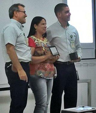 Fernanda Almeida é uma das 25 pessoas voluntárias da Rede de Percepção de Odor em municípios próximos à fábrica da Veracel. (Arquivo pessoal)
