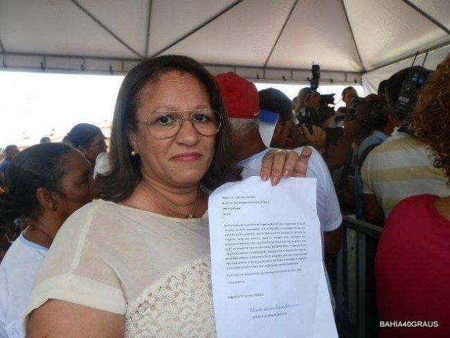 Eliade Câmara, em nome da família, faz esse apelo ao governador Rui Costa confiante na sua sensibilidade para a questão. (Foto: Bahia40Graus)