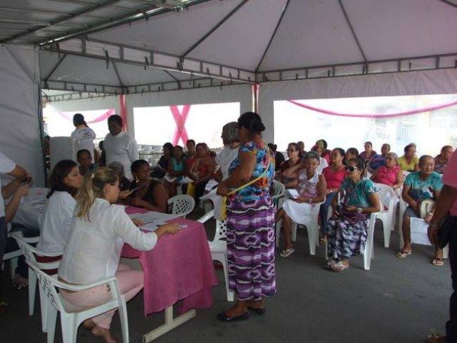 A meta é atender 450 mulheres durante os três dias que permanecerão na cidade. (Foto: ASCOM)