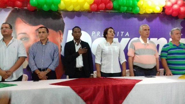 Devanir Brillantino apresenta o vereador Luizinho como vice em Itagimirim. (Divulgação)