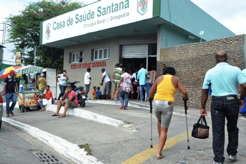Médico trabalhava na Casa de Saúde Santana. (Aldo Matos/ Acorda Cidade)