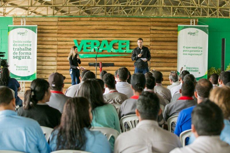 Neste ano, a SIPAT aconteceu no período de 07 a 11 de agosto, em todas as áreas da Veracel e nas empresas parceiras. (Ascom/Veracel)