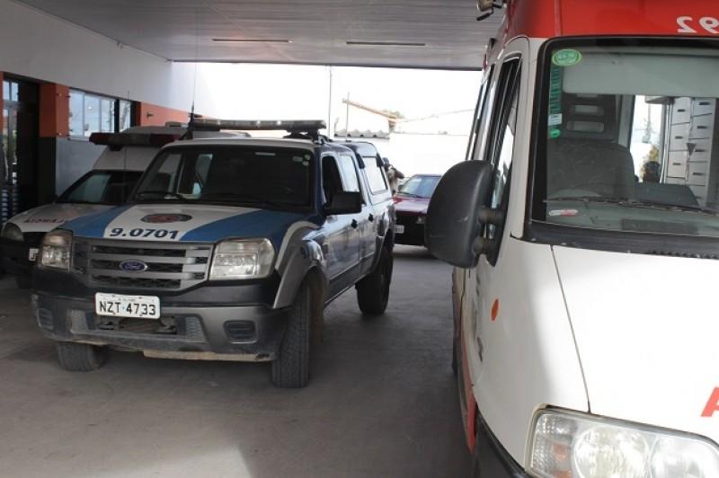 Vítima foi socorrida e encaminhada para o Hospital Regional de Eunápolis. (Foto do site VIA41)