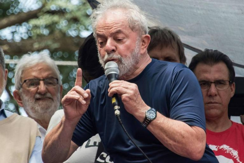 Lula foi condenado a 12 anos e um mês de prisão pelos crimes de lavagem de dinheiro e corrupção. (Imagem: Reprodução)