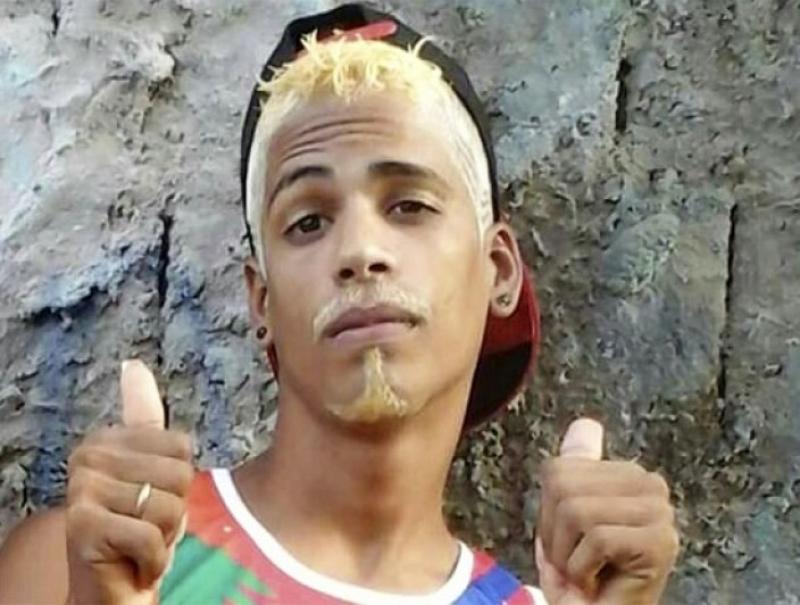 Emerson Carlos de Jesus Santos, morto em troca de tiros com a PM. (Reprodução: Bahia Dia Dia)