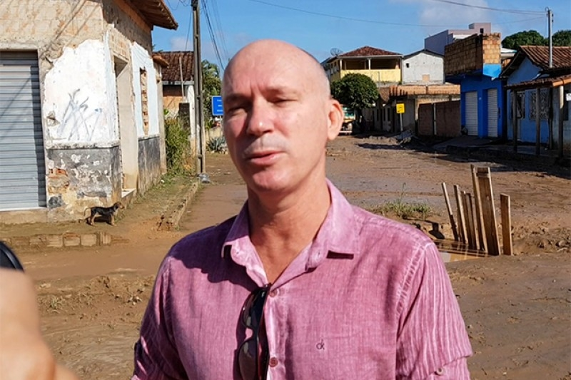 Prefeito anuncia o cancelamento da festa de aniversário de Itabela. (Bahia Dia Dia)