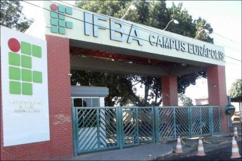 Campus do IFBA em Eunápolis. (Reprodução)