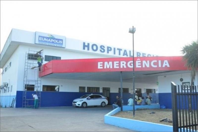 Jovem foi encaminhado ao Hospital Regional de Eunápolis. (Reprodução)