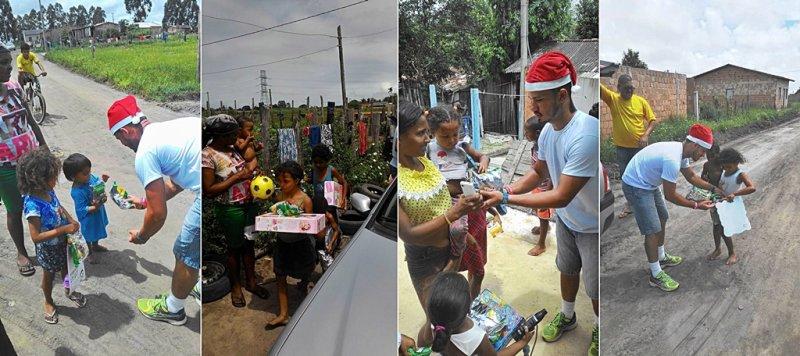 Brinquedos arrecadados no evento foram doados para crianças carentes em Eunápolis (Divulgação)