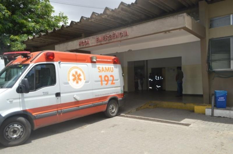 Feridos foram levados para o Hospital Geral Clériston Andrade em Feira de Santana. (Reprodução: Internet)