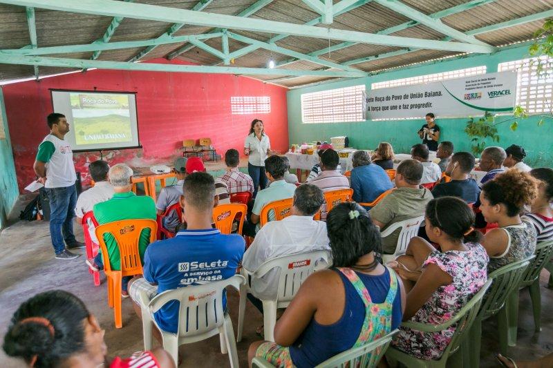 Veracel Celulose viabilizou o encontro entre a Associação de Pequenos Produtores Rurais de União Baiana, distrito de Itagimirim, e as associações de Petrolândia e Ponto Central. (Divulgação)