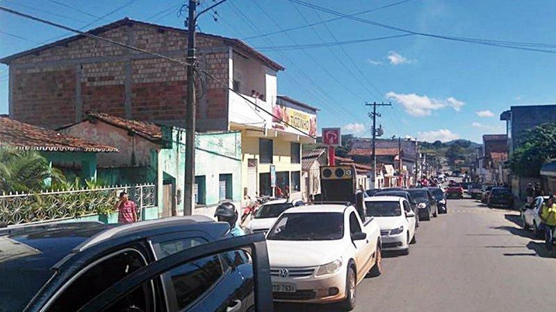 Carreata pelas ruas de Itagimirim (Divulgação)