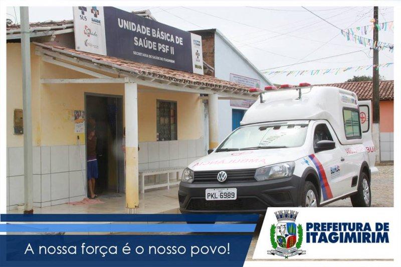 Veículo ficara à disposição dos moradores de União Baiana (Foto: Ascom)