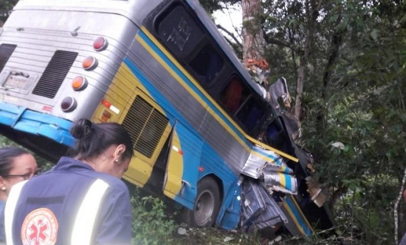 Ônibus voltava da cidade de Tobias Barreto, em Sergipe. (Radar64)