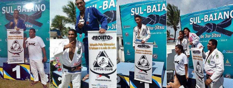 Atletas de Itagimirim trouxeram diversas medalhas para o município (Jackson Santos)