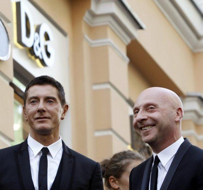 Os estilistas Domenico Dolce e Stefano Gabbana(Foto Reuters   Agência) 1368c41ad2