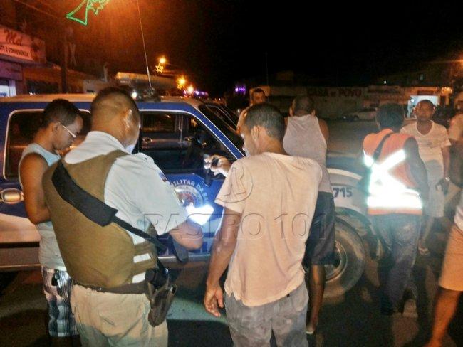 Vítima teve sua moto roubada em Itapebi. Guarnição de Itagimirim também participou das buscas na região. (Foto: Rastro101)