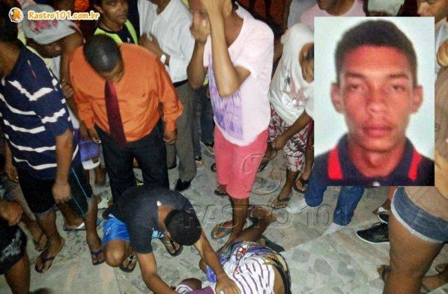 Jovem de 20 anos foi morto com diversos tiros em Itagimirim. (Foto: Rastro101)