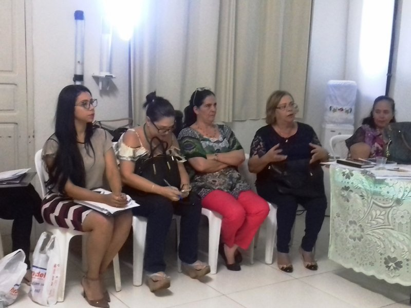 Gestores da Saúde da região participaram do encontro. (Divulgação)