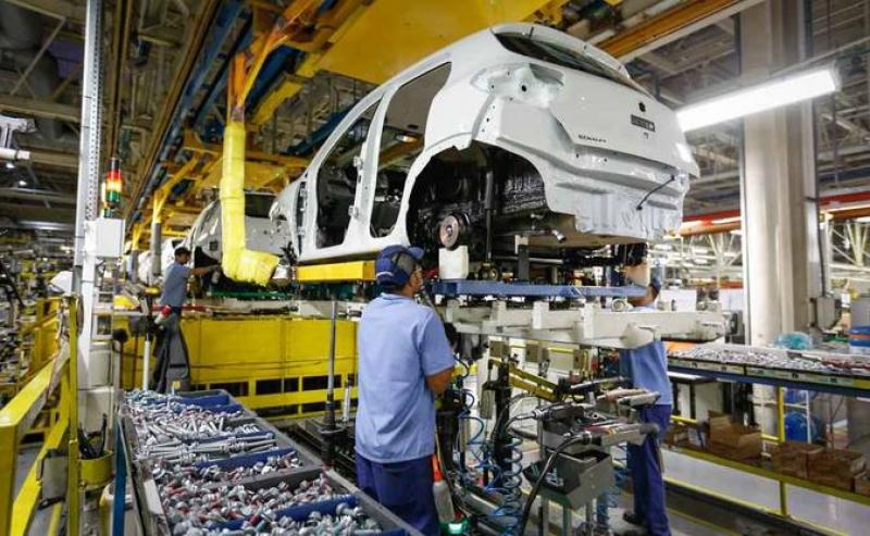 Indústria teve aumento de 1,8%. (Imagem: Reprodução)