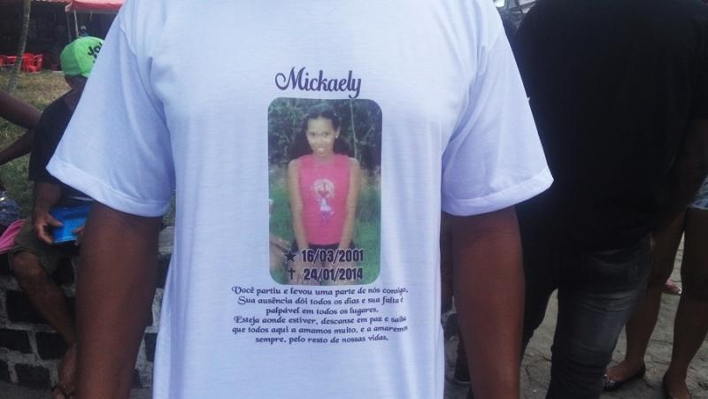 Mickaely foi assassinada pelo pai em 2014. (Foto: Rastro101)