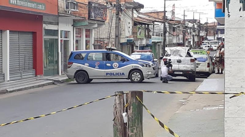 Houve troca de tiros, mas ninguém ficou ferido. (Imagem: Ascom-8ºBPM Porto Seguro)
