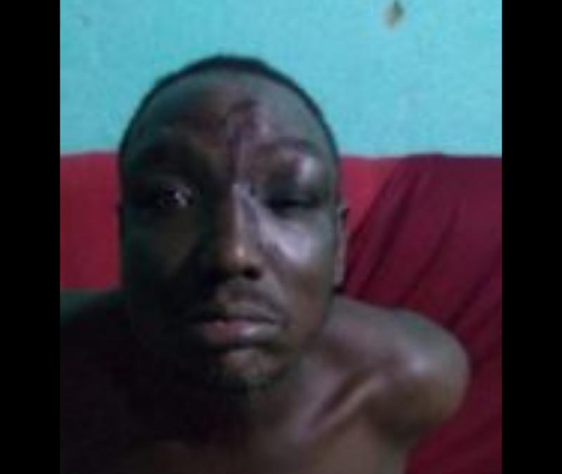 Homem foi preso logo após o crime. (Reprodução: O Tempo Jornalismo)