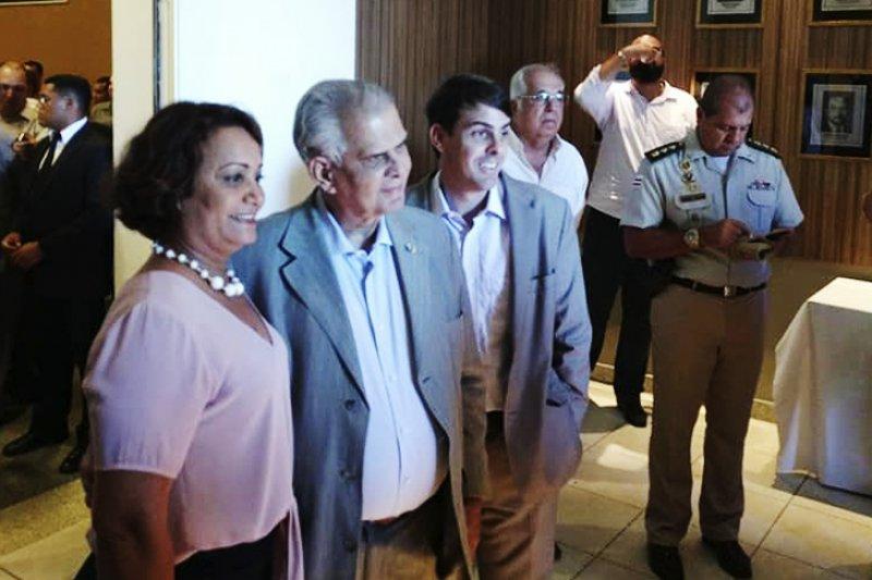 A conquista da prefeita Devanir Brillantino só foi possível pelo desempenho e parceria do Deputado Federal José Carlos Araújo que acompanhou a prefeita durante todo o evento. (Ascom)