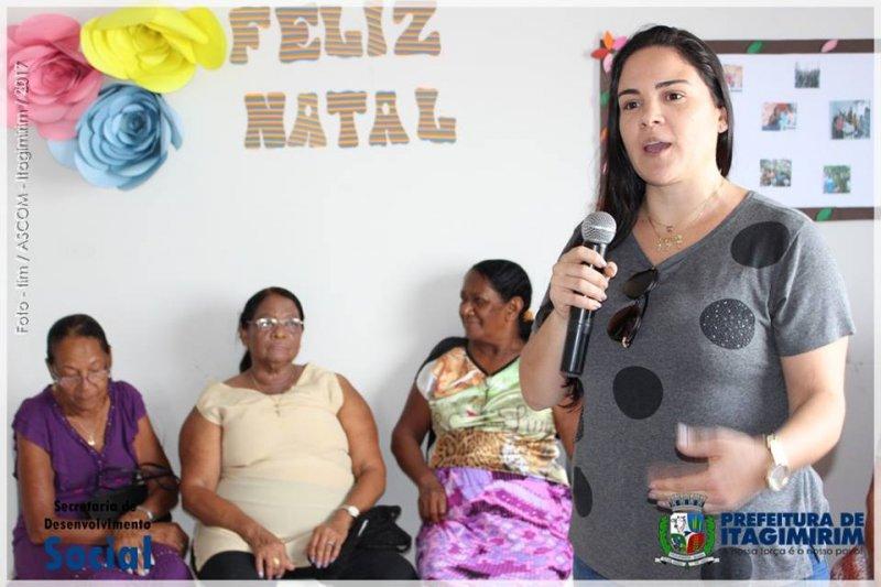 Nova secretária de Desenvolvimento Social, Srª Fernanda do Vale Maciel (Ascom)