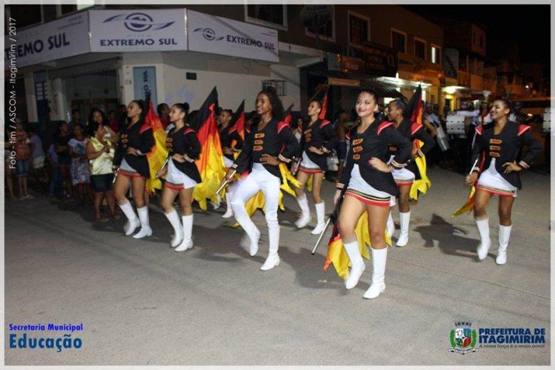 Itagimirim sediou festival de fanfarras (ASCOM)