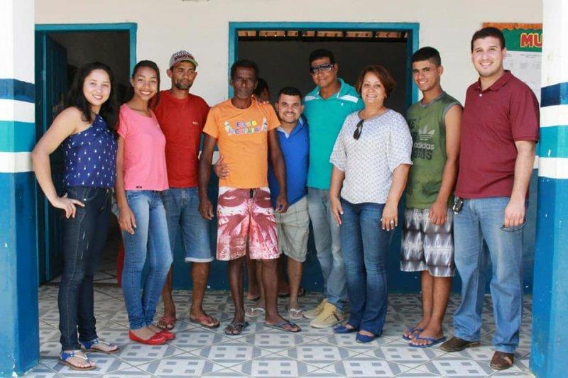 Em União Baiana foram distribuídas 230 cestas básicas (ASCOM)