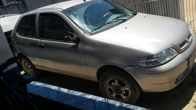 Carro teria sido usado para atropelar a vítima. Fonte: site sulbahia news.