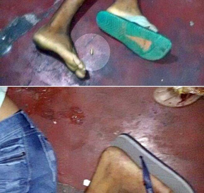 Crime deixou duas pessoas mortas e uma ferida. (Foto: Rastro101)