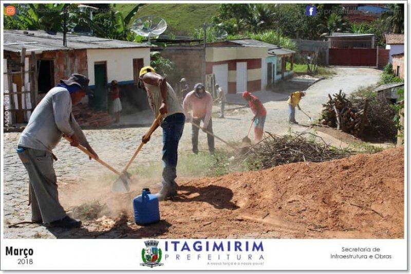 Mutirão de limpeza está sendo realizado em várias etapas (ASCOM)