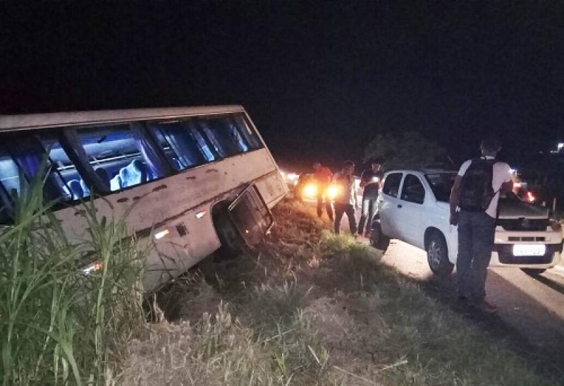Não há informações sobre o número de passageiros que se encontravam no veículo. (Reprodução: Verdinho Itabuna)