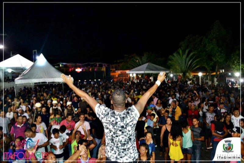 Patrulha do Samba em Itagimirim (ASCOM)
